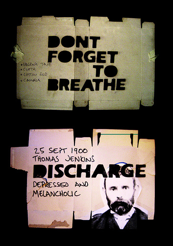 discharge breath