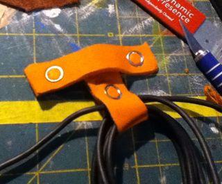 Easy cord keeper