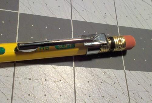 pencil clips