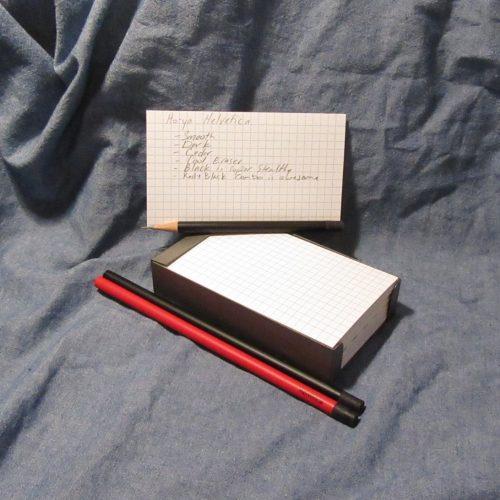 Review: Ito-ya Helvetica Pencil | Comfortable Shoes Studio
