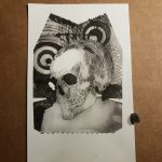 print 1 of skull with circles